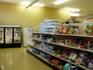 A nice example of a client choice pantry.